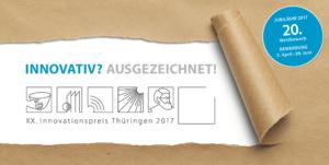 """Bewerbungsschluss """"Innovationspreis Thüringen"""""""