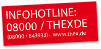 ThEx Hotline: 0800 0 843933