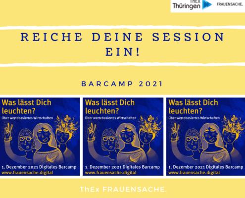 Barcamp: Reiche Deine Session ein!