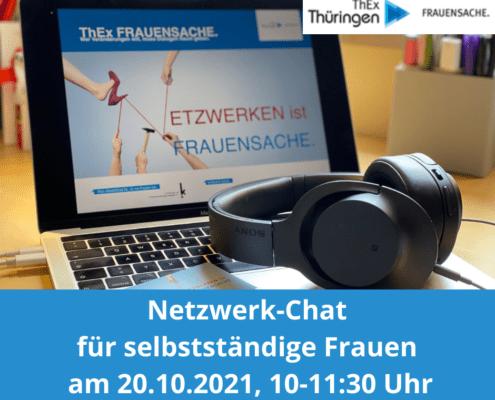 Netzwerk-Chat für selbstständige Frauen am 21.10.2021