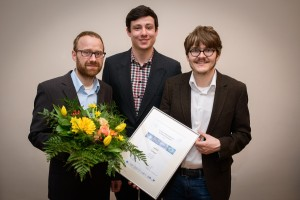 (v.l.n.r.) Dr. Marcus Große, Simon Willeke und Martin Schaffer