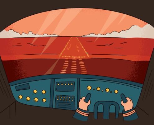 Start Up-Cockpit