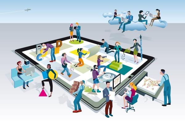 Stellenausschreibung Plattform
