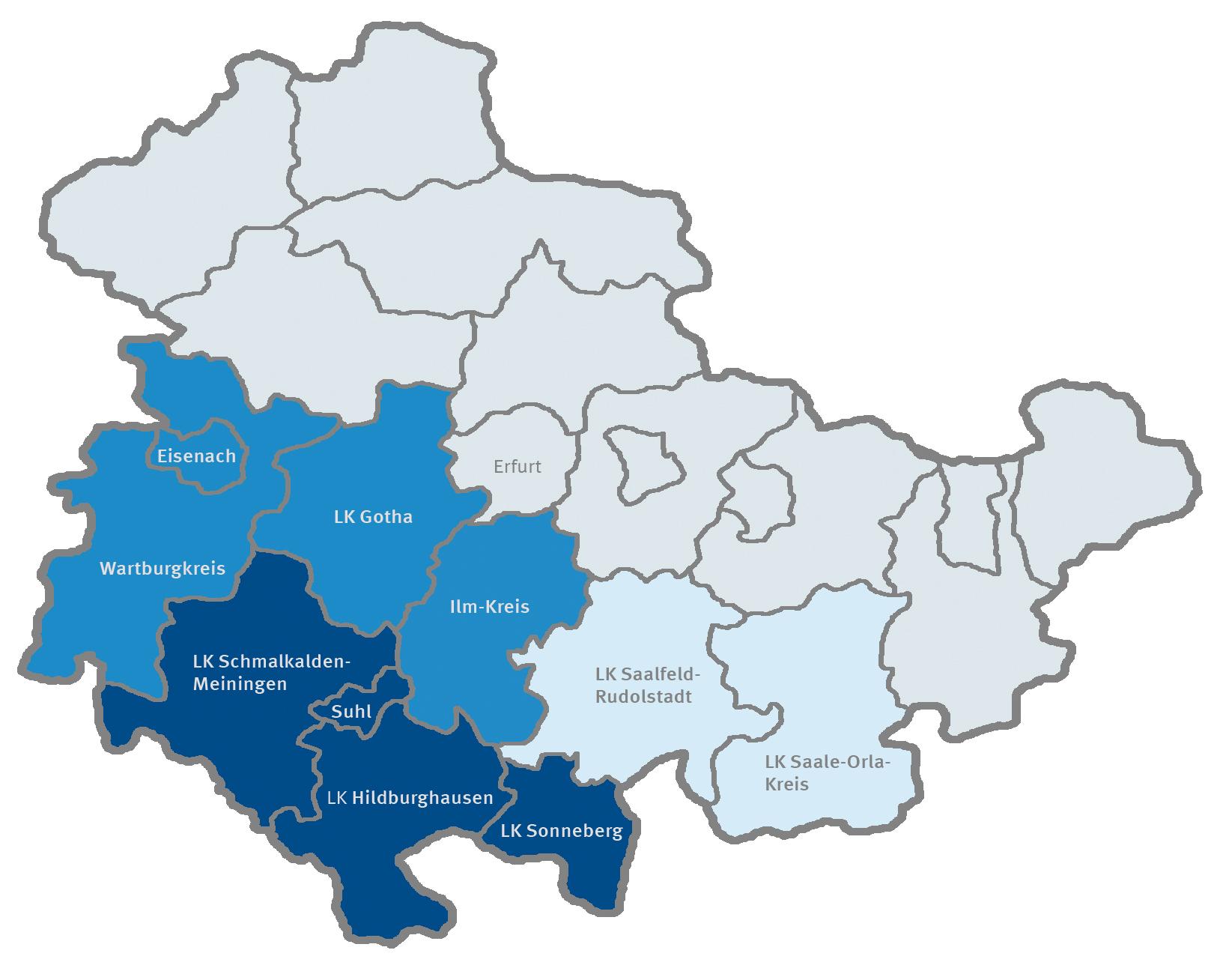 Landkreis Gotha Karte.Uber Das Projekt Thex Startinno