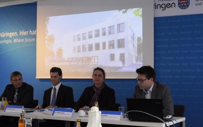 Pressekonferenz zum ThEx am 9.4.2014